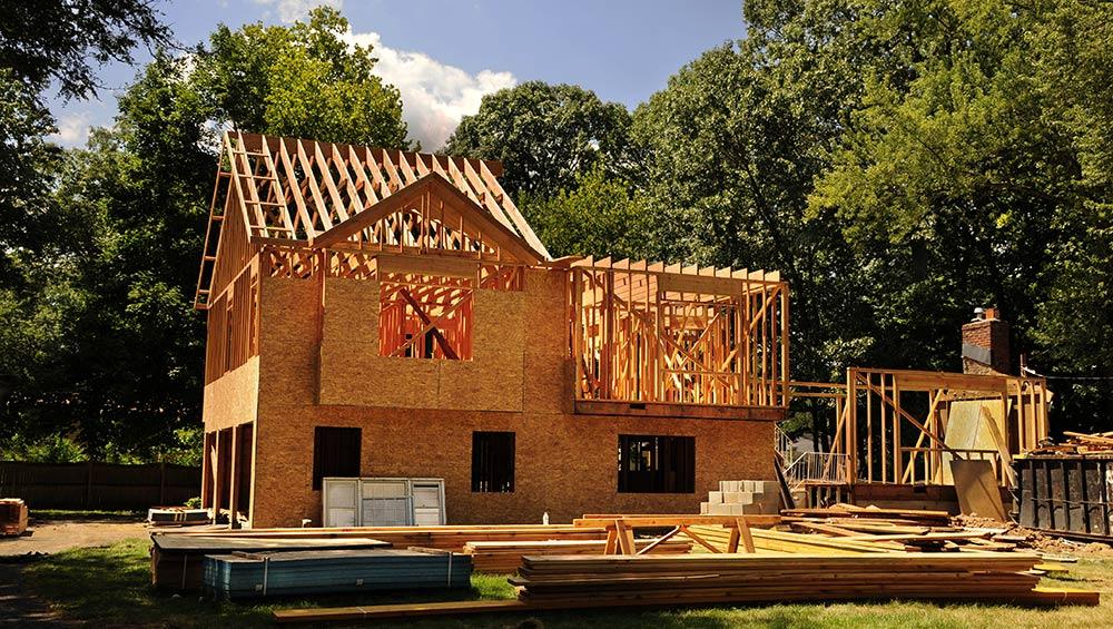 Maison ossature bois - bardage